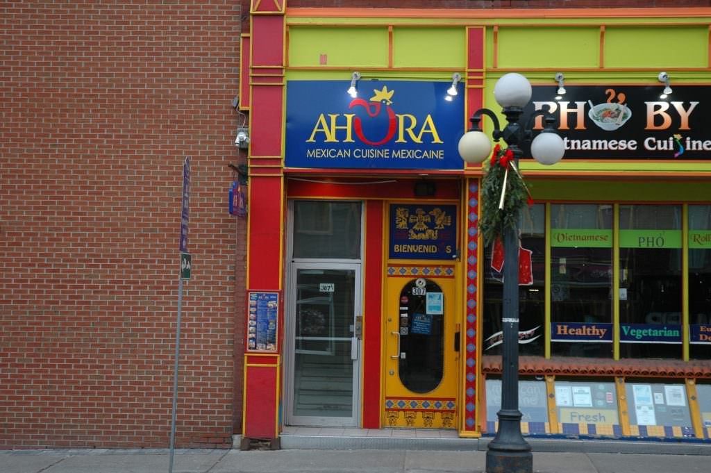 A taste of ottawa my favorite places to eat and drink in for Ahora mexican cuisine